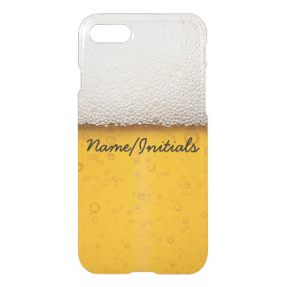 Beer Bubbles Close-Up Funny Drinking Name iPhone 7 Case