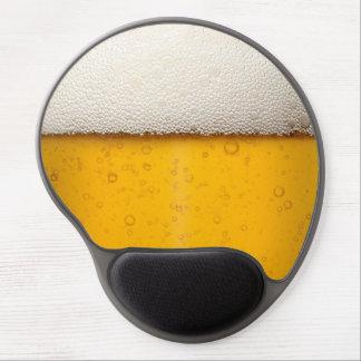 Beer Bubbles Close-Up Gel Mousepad