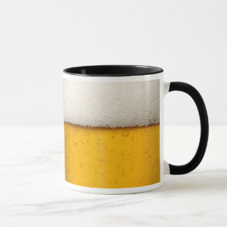 Beer Bubbles Close-Up Mug