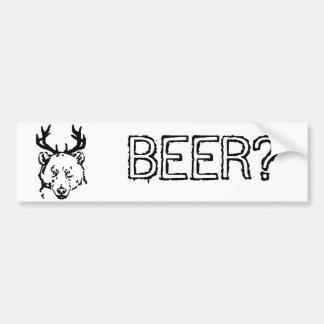 Beer? Bumper Stickers
