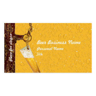 Beer Business Business Card