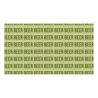 Beer Business Card