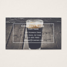 Beer Business Card at Zazzle