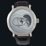 "Beer Can Watch<br><div class=""desc"">It&#39;s always Beer-Thirty somewhere in the world. Vintage Leather Watch is a big-faced timepiece that will never go out of style. Featuring a three-hand quartz movement and genuine leather strap,  this watch's classic look is great for formal or fun occasions.</div>"