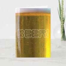 Beer! Card - Dad's fav?!
