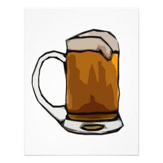 Beer Cartoon Art Invitations - Beer Invites