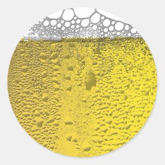Beer Celebration Classic Round Sticker