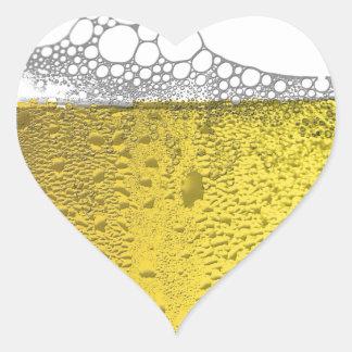 Beer Celebration Heart Sticker