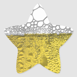 Beer Celebration Star Sticker