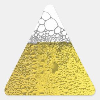 Beer Celebration Triangle Sticker