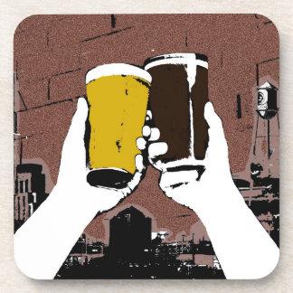 Beer Cheers Drink Coaster Alcohol