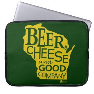 Beer Cheese & Good Company Du tonto Designs WI Mangas Portátiles
