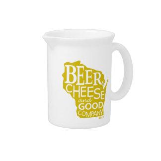 Beer Cheese & Good Company Du tonto Designs WI Jarrones