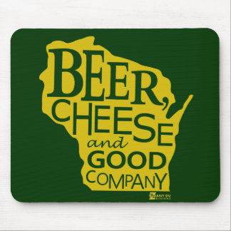 Beer Cheese & Good Company Du tonto Designs WI Tapetes De Raton