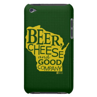 Beer Cheese & Good Company Zany Du Designs WI Barely There iPod Case