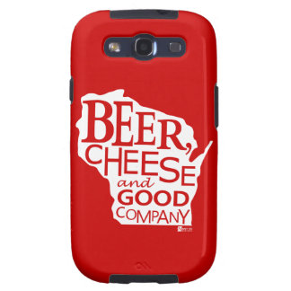 Beer Cheese & Good Company Zany Du Designs WI Samsung Galaxy S3 Cover