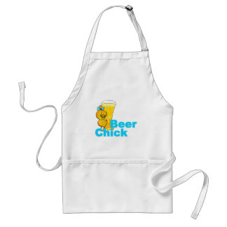 Beer Chick #2 Adult Apron