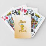 Beer Chick Poker Deck