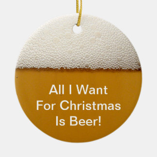 Beer Christmas Ornament