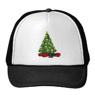 Beer Christmas  tree Trucker Hat