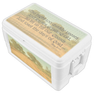Beer Cooler with Aussie Henry Lawson Quote