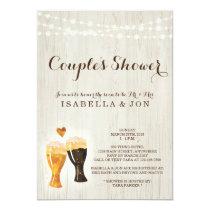 Beer Couple Shower Invitation Bridal Wedding Baby