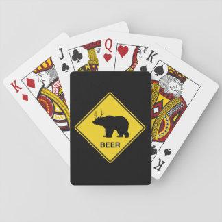 Beer Crossing Poker Deck
