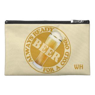 BEER custom monogram accessory bags