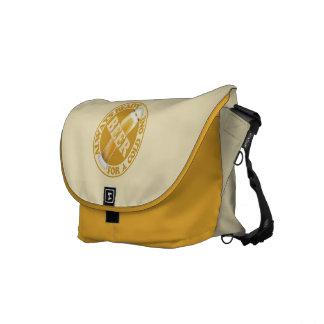 BEER custom monogram messenger bags