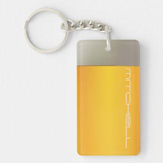 BEER custom name key chain
