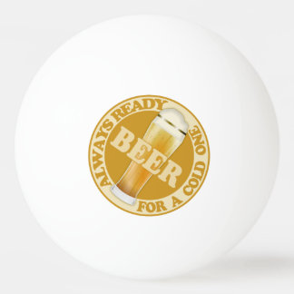 BEER custom name ping pong balls