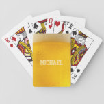 "BEER custom name playing cards<br><div class=""desc"">See my store for more items with this image.</div>"