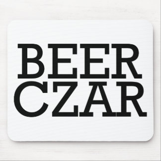 Beer Czar Mouse Pad