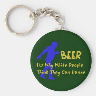 Beer Dancers Keychain