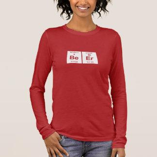 BeEr Dark Ladies Long Sleeve Long Sleeve T-Shirt