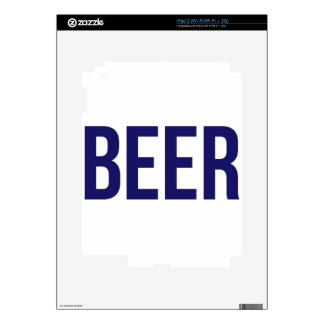 BEER DECALS FOR THE iPad 2