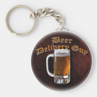 Beer Delivery Guy Keychains