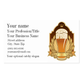 Beer Design Business Card