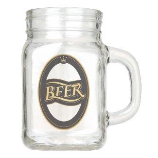 Beer Design Mason Jar
