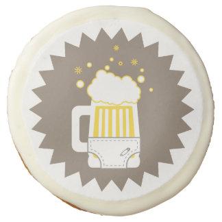 Beer & Diaper Party Sugar Cookies