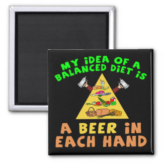 Beer Diet T-shirts Gifts Refrigerator Magnets