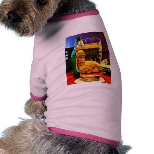 Beer Dog Tee Shirt