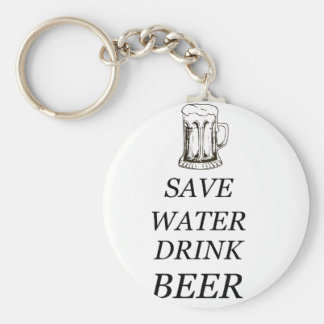 Beer Drink Food Keychain