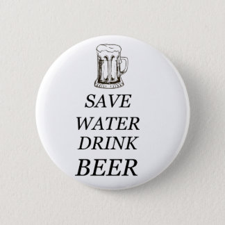 Beer Drink Food Pinback Button