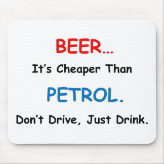 beer drink mouse pad