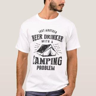 Beer Drinker Camping b T-Shirt