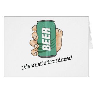 Beer Drinker Card