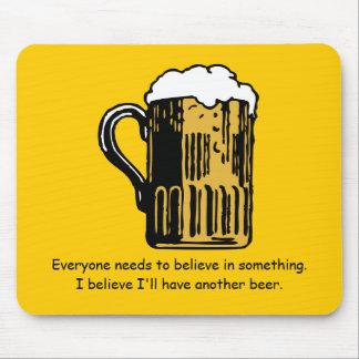 Beer Drinker's Mousepad