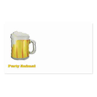 Beer drinkers products Double-Sided standard business cards (Pack of 100)
