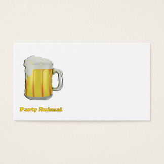 Beer drinkers products business card